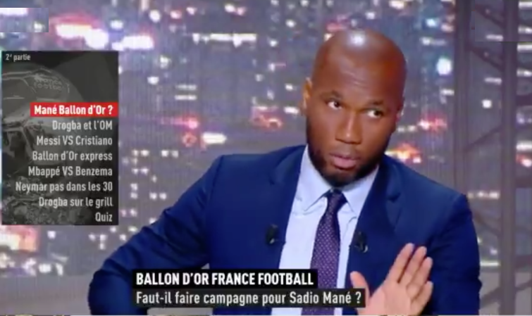 VIDEO - BALLON D'OR : DROGBA PLAIDE POUR SADIO MANÉ