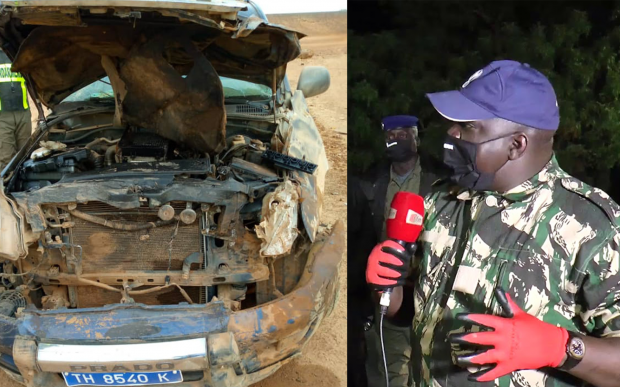 L'ANIMATEUR NDOYE BANE VICTIME D'UN ACCIDENT DE LA CIRCULATION